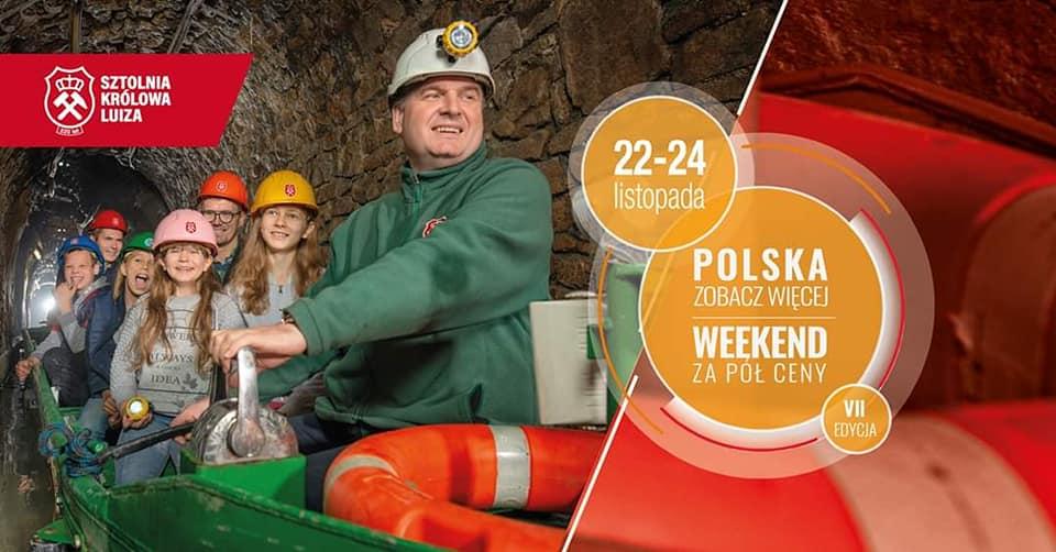 """""""Polska zobacz więcej – weekend za pół ceny."""""""